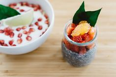Pomegranate Chia Muesli Yohurt — PixaSquare | Free Hi-Res Stock Photos