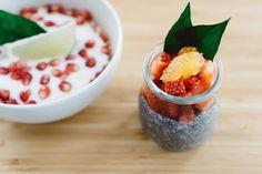 Pomegranate Chia Muesli Yohurt — PixaSquare   Free Hi-Res Stock Photos