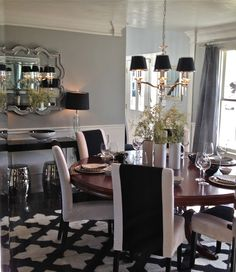 South Shore Decorating Blog: My Dining Room RE-Reveal