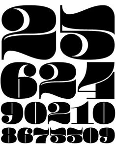 old style numerical fonts - Google Search