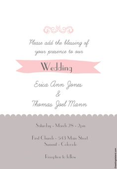 Email Invitation Template  Invitation Templates  Templates