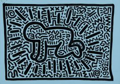 Keith Haring Baby | Keith Haring | Gallery of Paris