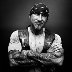 Bikers – Portraits of Hells Angels by Nicolas Auproux-21