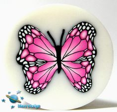 Pink butterfly cane | Flickr - Photo Sharing!