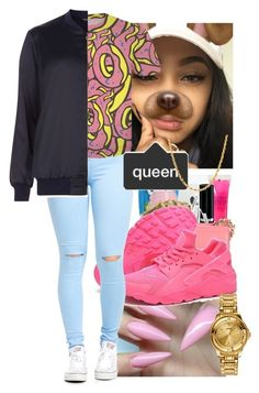 """""""//Odd Future//"""" by niacurry14 ❤ liked on Polyvore featuring NIKE, Sterling Essentials, Versus and Dorothy Perkins"""