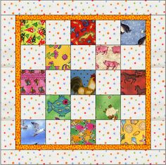 thinking about an easy quilt to make for Liam's bed