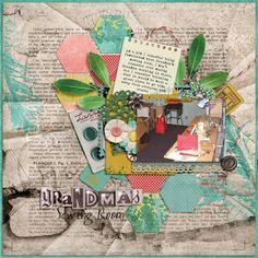 Grandma's Sewing Room | Wendy Tunison Designs: Grandma's Junk Drawer; Ponytails Designs: Templatopia Vol. 7; Wendy Tunison Designs: Me and My Shadow