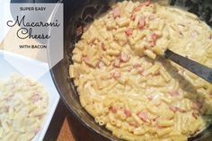 Super Easy Macaroni and Cheese with Bacon Recipe