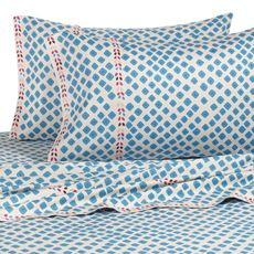 DVF Studio™ Palm Sheet Set, 100% Cotton, 250 Thread Count  -not sure about the quality of these but I seriously love the pattern-  $129.99 for king