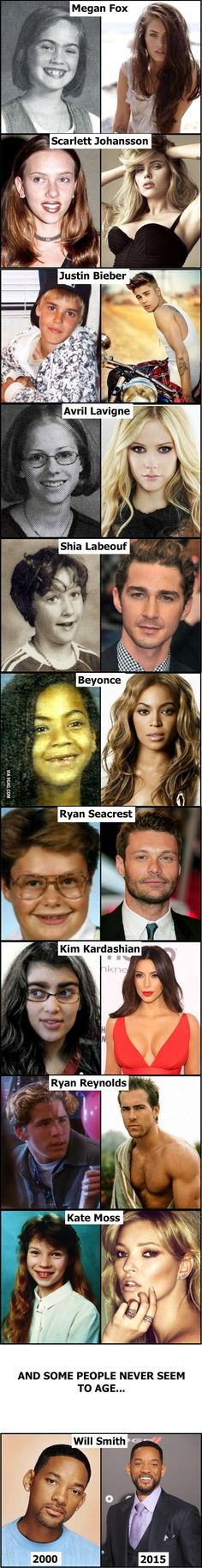 Celebrities then and now... (part 3)
