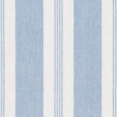 Mill Pond Stripe - Sky/White - Stripes - Fabric - Products - Ralph Lauren Home - RalphLaurenHome.com
