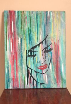 """Acrylic Dirty Art, 16 """"x Acrylic Fluid Art, Acrylic Pouring, Abstract Painting, Dirty Pouring – Sadness - Abstract Painting Simple Acrylic Paintings, Acrylic Painting Canvas, Abstract Canvas, Canvas Art, Gouache Painting, Painting Art, Sad Paintings, Fantasy Paintings, Art Painting Gallery"""