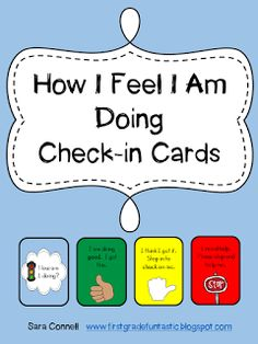 Whole Body Listening, Responsive Classroom, Check-in Cards, Plus MORE