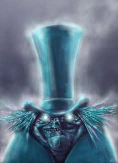 GRIM, GRINNIN GHOSTS COME OUT TO SOCIALIZE!!!!  ((A ghost from the Haunted Mansion!))
