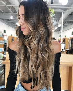 27 Blazing Hot Red Ombre Hair Color Ideas in 2019 - Style My Hairs Brown Ombre Hair, Brown Blonde Hair, Ombre Hair Color, Brown Hair With Highlights, Blonde Highlights, Ombre Hair Brunette, Dark Blonde Ombre, Balyage Long Hair, Brown Hair Balayage
