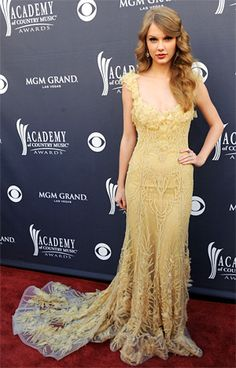 Taylor Swift at the  Academy of Country Music Awards 2011