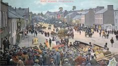 Market Day, Cookstown 1900