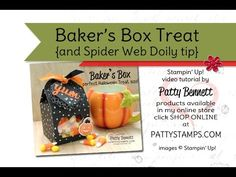 PattyStamps Video: Baker's Box Treat Tip - Patty's Stamping Spot