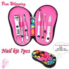 7 PCS/SET Stainless Steel Travel Manicure Set Nail Clipper Care Scissors Earpick Free Shipping(China (Mainland)) Keyword Trends, Packing List For Cruise, Manicure Set, Great Deals, Scissors, Jewelry Accessories, Slippers, Nail, Stainless Steel