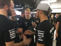 From one champion to another!!!  #JapaneseGP #F1 #TheTriple