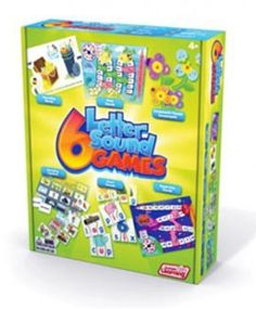 Love this Letter & Sound Game Pack by Junior Learning on Learning Letters, Learning Games, Letter Sound Games, Synthetic Phonics, Made Up Words, Phonics Games, Word Building, Beginning Sounds, Gifted Education