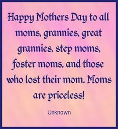 Moms are priceless quotes mothers day wishes happy mothers day mothers day pictures mothers day quotes happy mothers day quotes mothers day images Happy Mothers Day Friend, Happy Mothers Day Pictures, Mothers Day Poems, Happy Mother Day Quotes, Mother Day Wishes, Mother Quotes, Happy Quotes, Happy Mothers Day Wallpaper, Mothers Day Inspirational Quotes