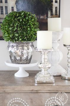 Are you thinking of changing your decor? See some silver inspiration from Maison Valentina. See more at maisonvalentina.net
