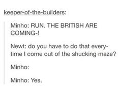 I could totally see this happening <<< *whispers* this was before the incident...