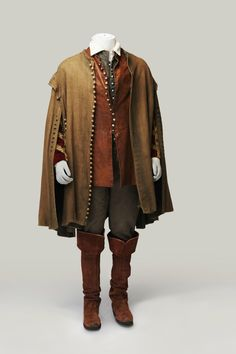 COSPROP - 1660 men's costume reproduction