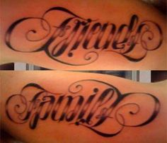 ambigram-tattoo-friends-family