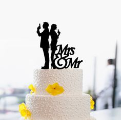 Hey, I found this really awesome Etsy listing at https://www.etsy.com/listing/249201128/mr-and-mrs-cake-topper-funny-wedding