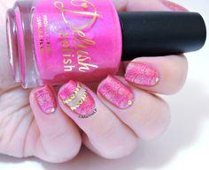 Nailstorming - Holi (Bollywood) nails