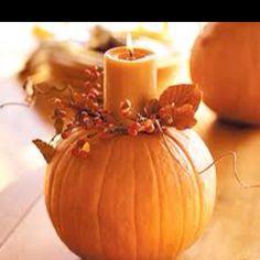 Centerpiece idea for fall