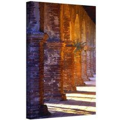 Dean Uhlinger Capistrano Gallery-Wrapped Canvas, Size: 24 x 32, Orange