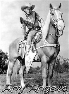 Roy Rogers and Trigger ... always watched them at the Glenwood house ... Saw them in person at the Oregon Centennial in Portland, July 1959!