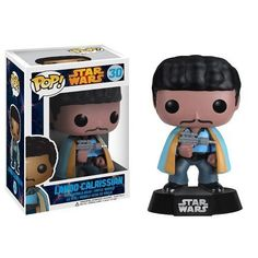 Lando Calrissian Funko POP x Star Wars Vinyl BobbleHead Figure w Stand -- Want to know more, click on the image.