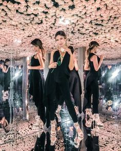Jeff Leatham's floral optical illusion at Kim Kardashian's makeup launch | Wedded Wonderland