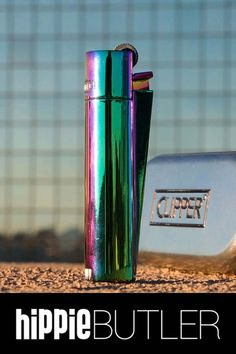 Part of the full-metal series of clippers, this clipper features a polished rainbow chrome finish and stands out beautifully from any other clipper! #clipperlighter #rainbowlighter Order here: https://www.hippiebutler.com/product/clipper-rainbow-clipper-lighter/