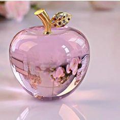 Pretty glass pink Apple, I like it! Stone Wallpaper, Apple Wallpaper, Flower Wallpaper, Beautiful Nature Wallpaper, Colorful Wallpaper, Apollo Box, Pink Apple, Pretty Wallpapers, Everything Pink