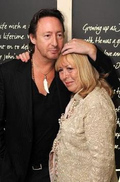 Julian and his mother, Cynthia - julian-lennon Photo   http://www.fanpop.com/clubs/julian-lennon/images/13899599/title/julian-mother-cynthia-photo
