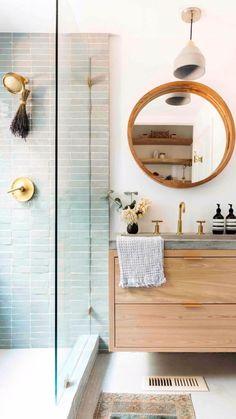 Bathroom Trends, Bathroom Inspo, Bathroom Ideas, Bathroom Organization, Budget Bathroom, Neutral Bathroom, Small Bathroom Inspiration, Bathroom Styling, Magical Home
