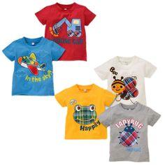 NWT-Children-Baby-Kids-Boys-Summer-Cartoon-Short-Sleeve-Tops-T-shirt-Age-1-6Y ****************************************  y: חולצה 100% כותנה לילדים עד גיל 6 מ-16 ₪ + משלוח חינם! מבחר דגמים לבחירה