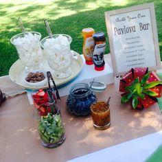 Pavlova bar - the perfect dessert bar!