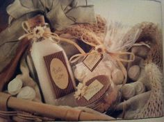 Homemade bath salts, fizzes & lotions. Recipes also on here.