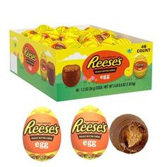 There are 48 wrapped candy Easter eggs per box. Easter Candy, Easter Eggs, Cereal Recipes, Snack Recipes, American Peanut Butter, Reese Eggs, Butterfly Snacks, Candy Companies, Creme Egg