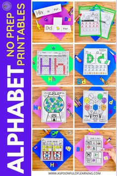 The beginning of the school year is full of learning about letters and alphabet activities! These no prep alphabet printables are full of activities where students will practice identifying letters A-Z, beginning sounds, writing letters, letter formation, fine motor skills, and so much more! Did I mention these are no prep? All you need to do is print and they are ready to be used! Add these to your morning routine, centers, early finishers, along with your alphabet curriculum, and so much more!