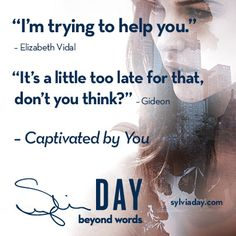 Quote from CAPTIVATED BY YOU by Sylvia Day
