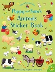 """Poppy and Sam's animals sticker book"" at Usborne Children's Books Farm With Animals, Baby Animals, Apple Tree Farm, Finger Puppet Books, Gaspard, Daisy, The Donkey, Animal Books, Painted Books"