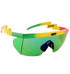 d4b43f98357 Neff Brodie Shades - Rasta Polarized Glasses