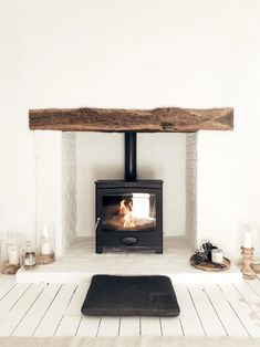 I& not one to push consumerism on you all but the Arada wood burning stove has been our absolute favourite house purchase so far. Wood Stove Hearth, Wood Burner Fireplace, Wood Burning Fireplaces, Wood Stove Decor, Best Wood Burning Stove, Wood Stove Surround, Wood Burning Furnace, Corner Wood Stove, Wood Burner Stove